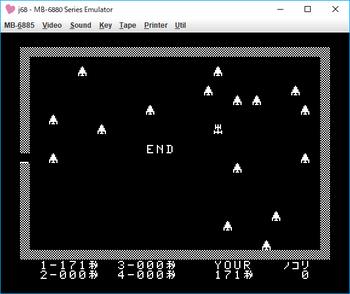 スペース・ハンティング game over.png