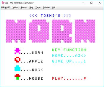 TOSHI'S MORM タイトル.png
