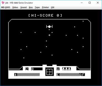 WAR_Star Cockpit Shooting Game ゲーム画面1.png